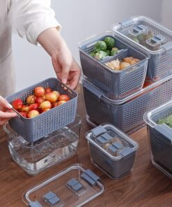 Major Refrigerator Organizer Bins